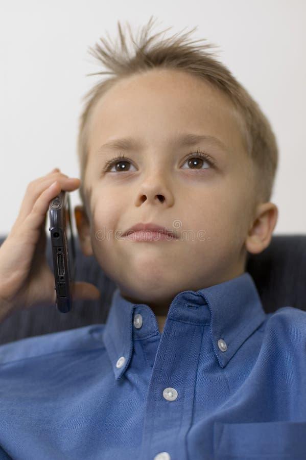 Download Jongen/palmtop stock foto. Afbeelding bestaande uit gezondheid - 286342