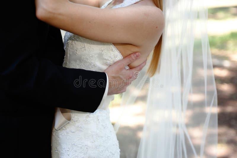 Jonggehuwden stock fotografie
