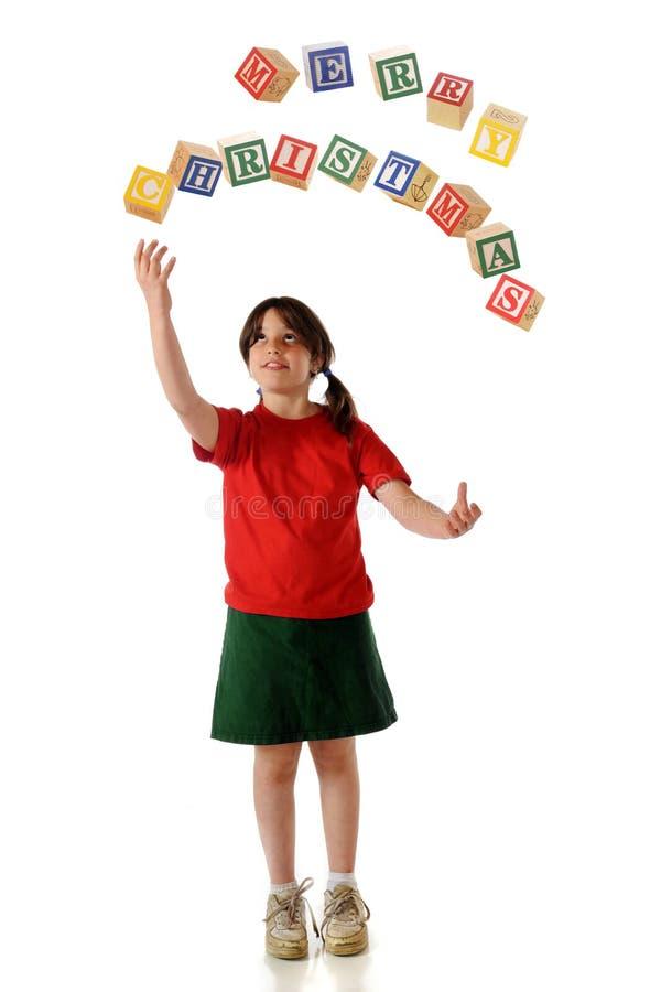 jonglerade hälsningar royaltyfria foton