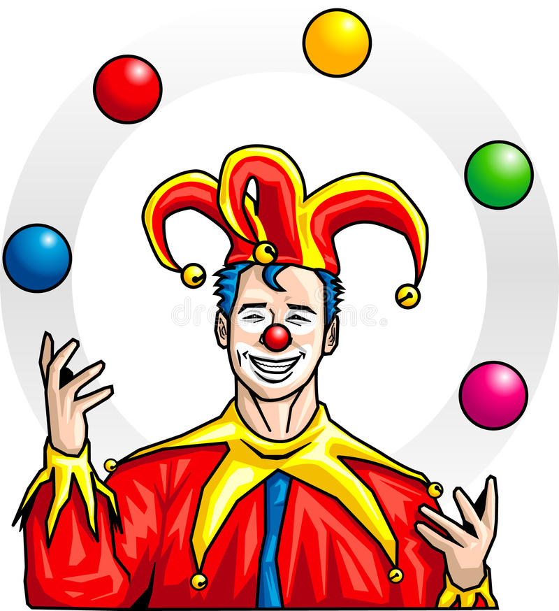 Jongleur illustration de vecteur illustration du cirque - Image jongleur cirque ...