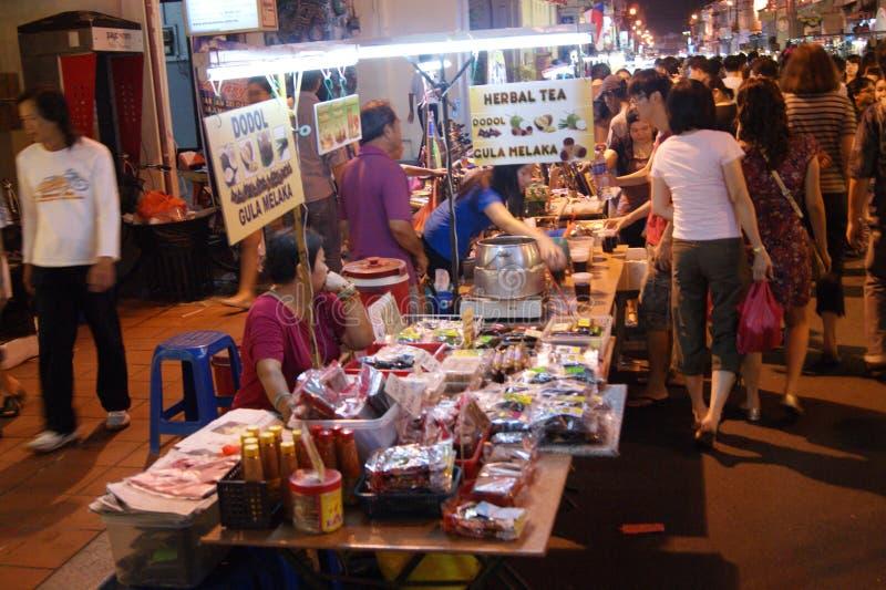 Jonker步行在Melaka,马来西亚 图库摄影