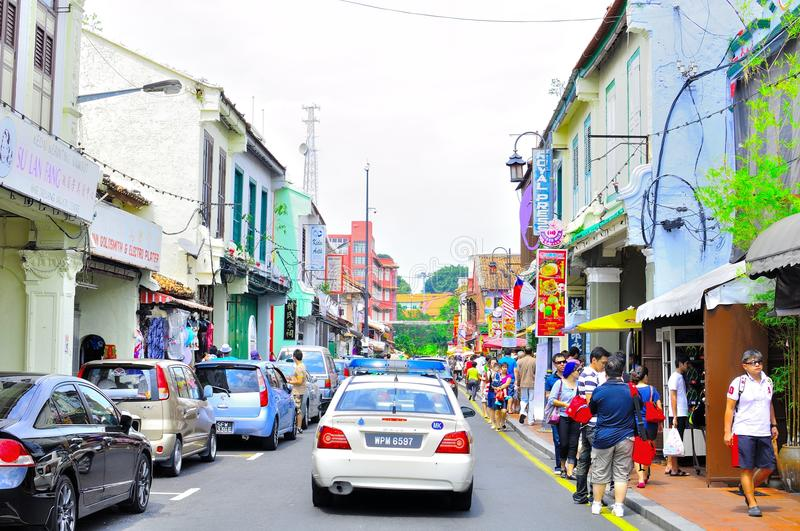 Download Jonker street editorial stock image. Image of malacca - 20168424