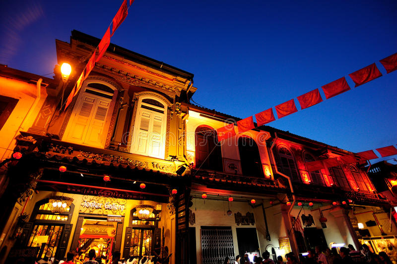 Download Jonker Street Or Known As Jonker Walk Editorial Photo - Image of malaysia, travel: 26477196