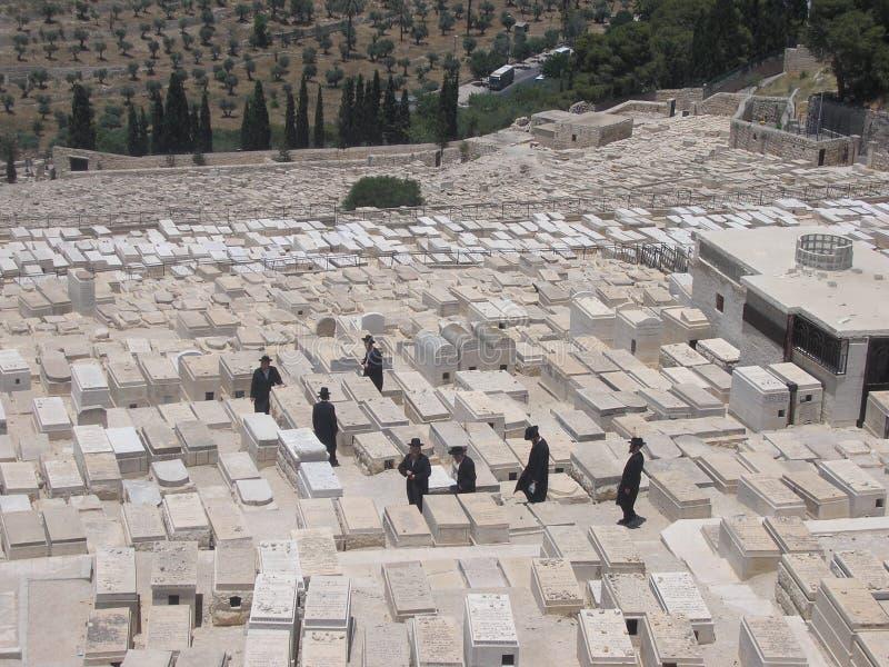 Joodse begraafplaats royalty-vrije stock foto