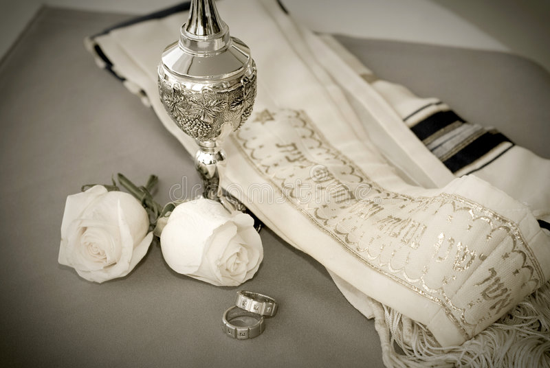 Joodse ringen royalty-vrije stock foto's