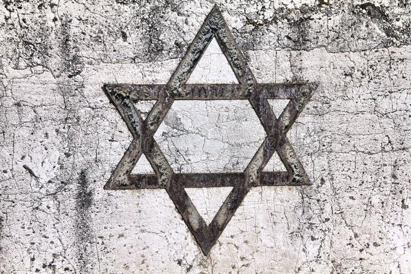 Joodse ster stock afbeeldingen