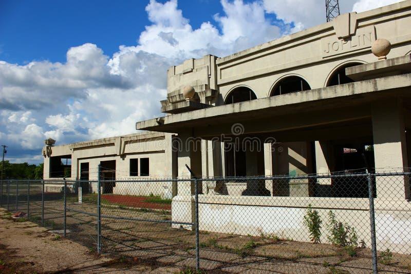 Joplin Union Depot stock photo