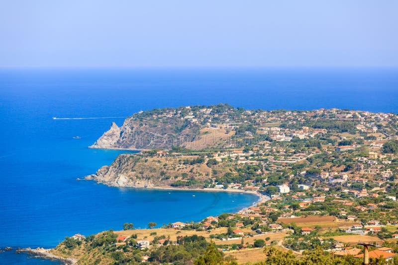 Joppolo coast. Joppolo, costa degli dei. Coast of goddesses in Calabria stock photo