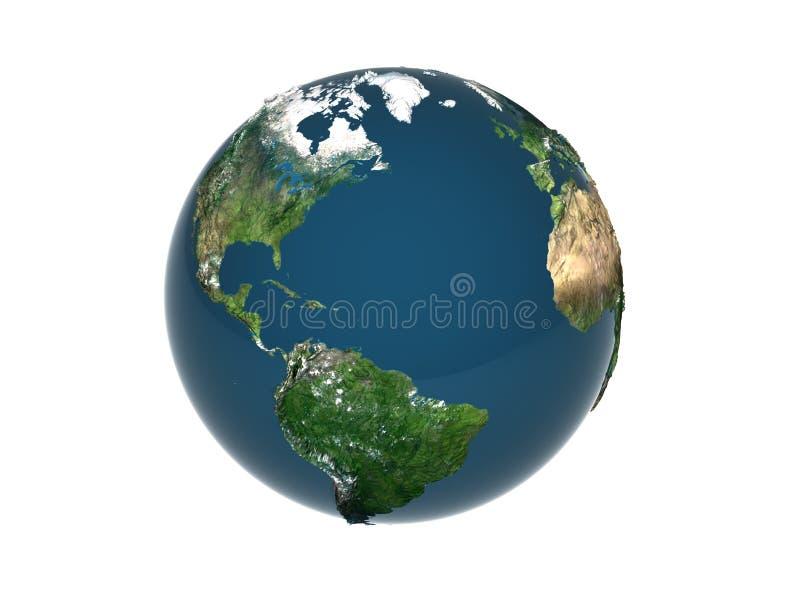 jord 3d royaltyfria bilder