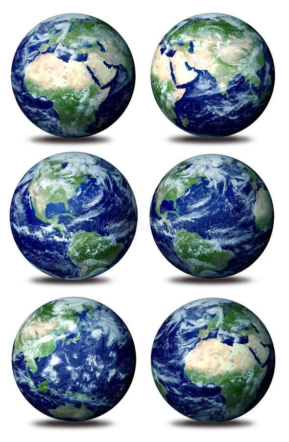 jord vektor illustrationer