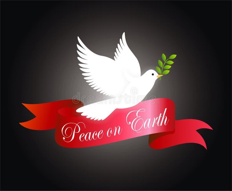 jorda en kontakt fred royaltyfri illustrationer