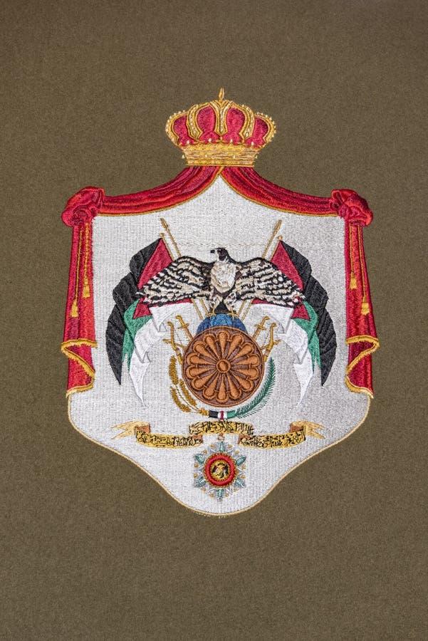 Jordan Coat de brazos stock de ilustración