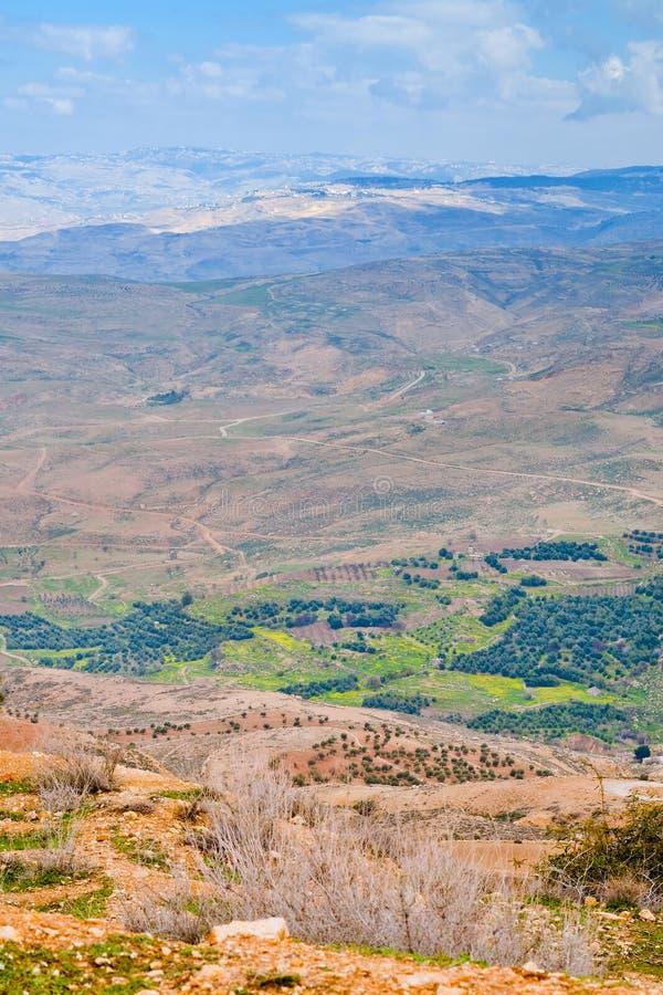 jordan góry nebo widok obrazy stock