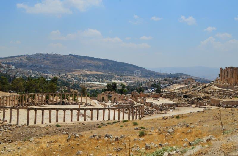 Jordan Jerash image libre de droits