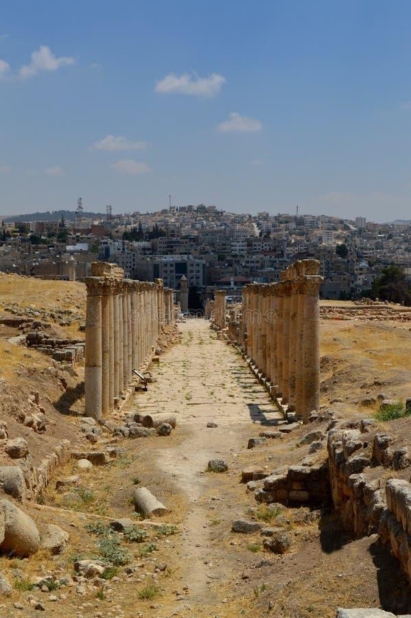 Jordan Jerash image stock