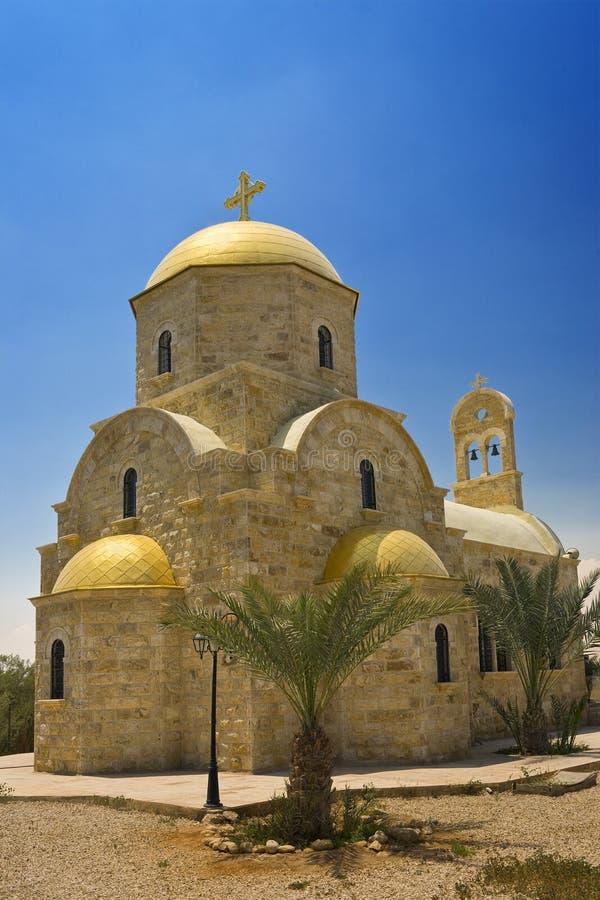 Jordan, Orthodox Church stock photography