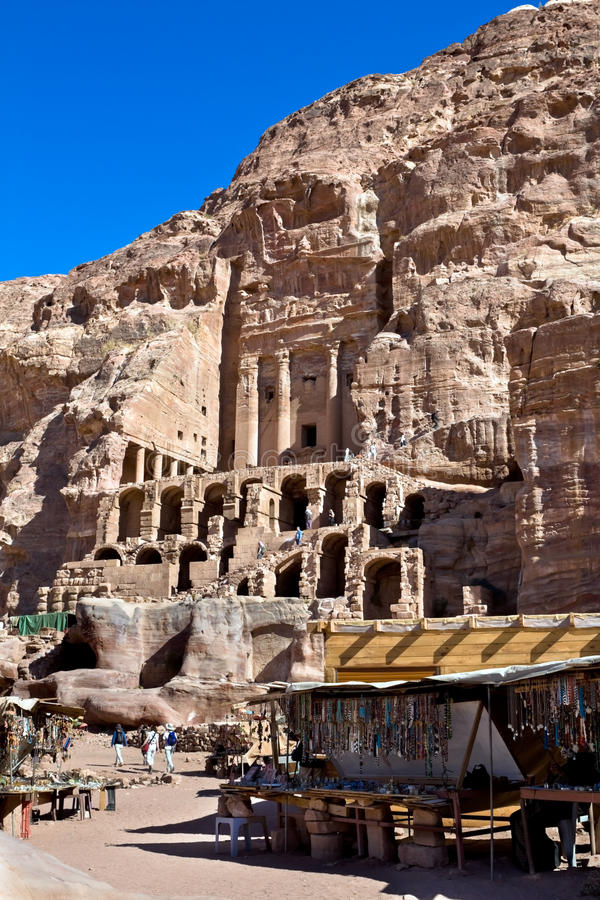 jordan petra obrazy royalty free