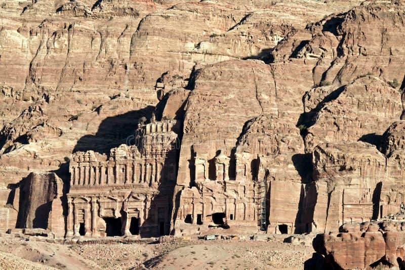 jordan petra zdjęcia stock