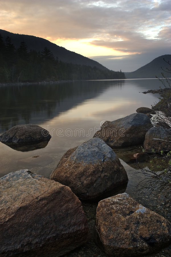 Free Jordan Pond Stock Photography - 1209132