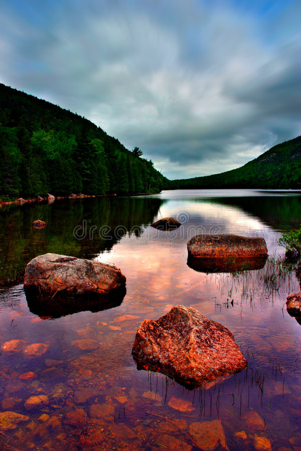 Download Jordan Pond, Acadia National Park Stock Image - Image: 759987
