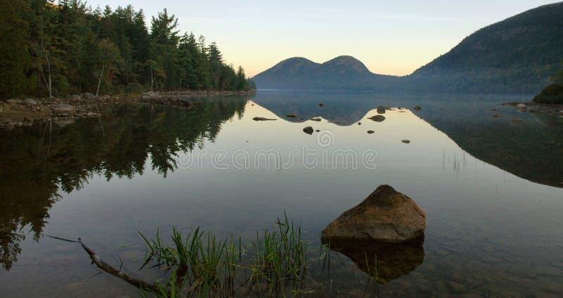 Jordan Pond Dawn, Acadia Stock Photography