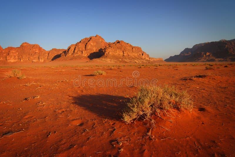 jordan ranek rumu wadi obraz stock