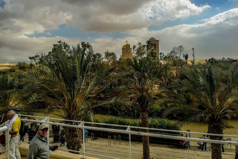 Jordan River arkivbilder