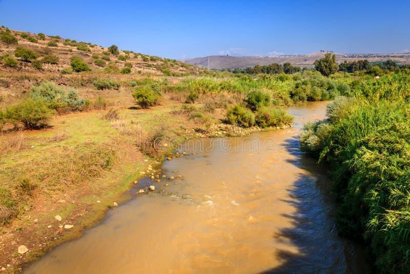 Jordan River imagem de stock royalty free
