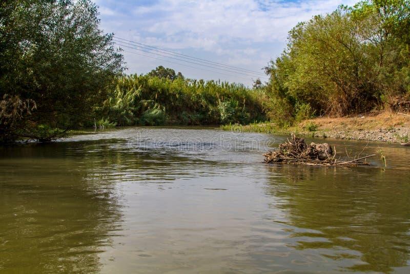Jordan River imagem de stock