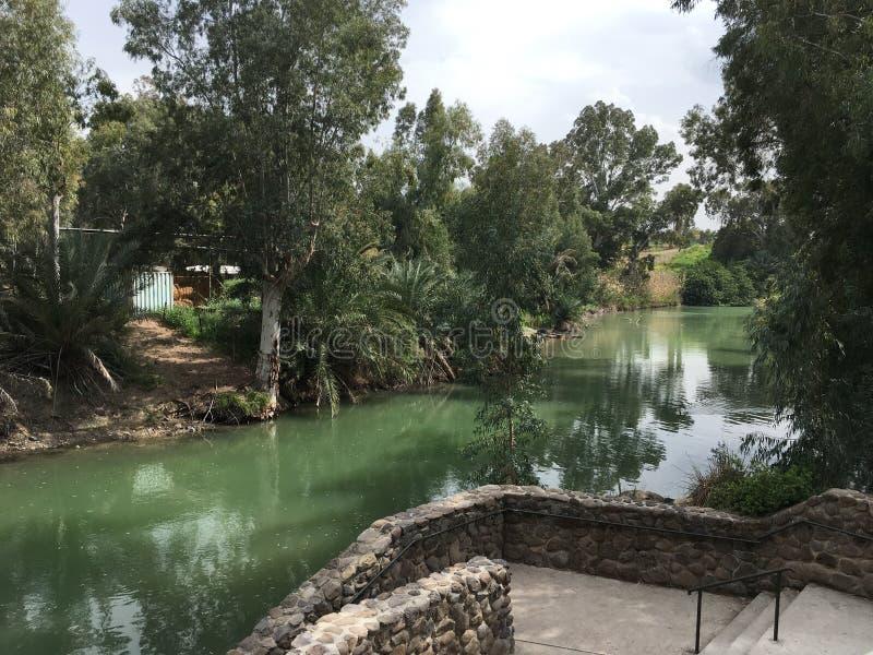 Jordan River royalty-vrije stock foto