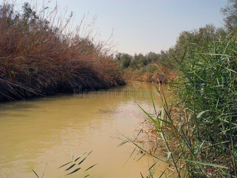 Jordan River, Israël photos libres de droits