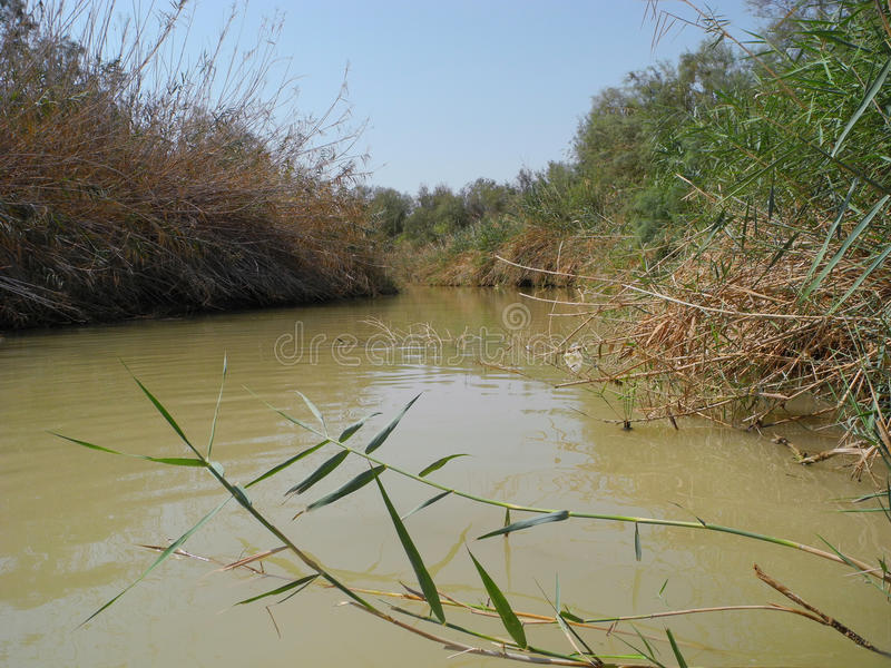 Jordan River, Israël photos stock