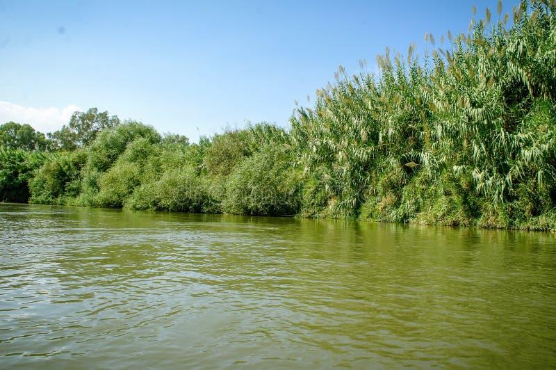 Jordan River, Israel lizenzfreies stockfoto