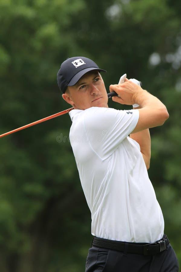 Jordan Spieth PGA pro-golfare royaltyfri fotografi
