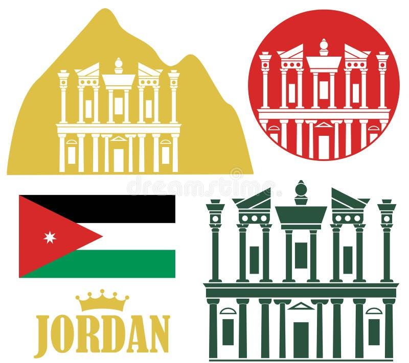 Jordan. Vector illustration (EPS 10 stock illustration