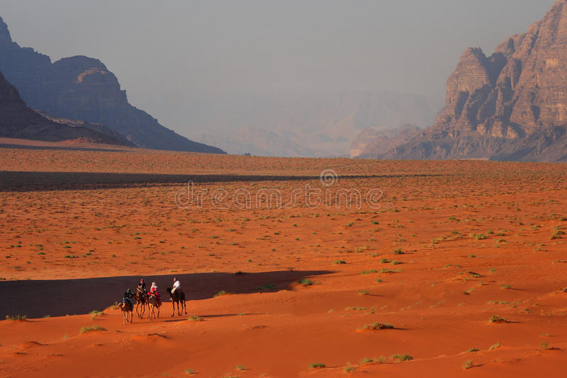 Jordan: Wadi Rum royalty free stock photography