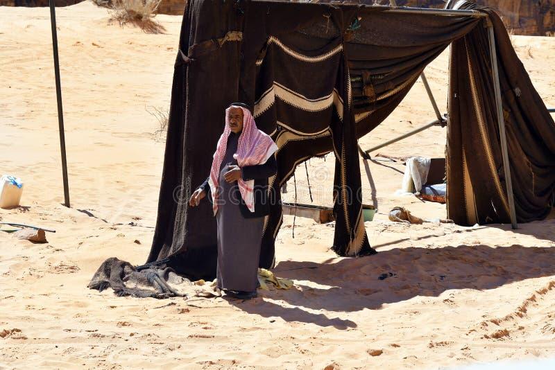 Jordanië, Bedouin Wadi Rum, stock foto's