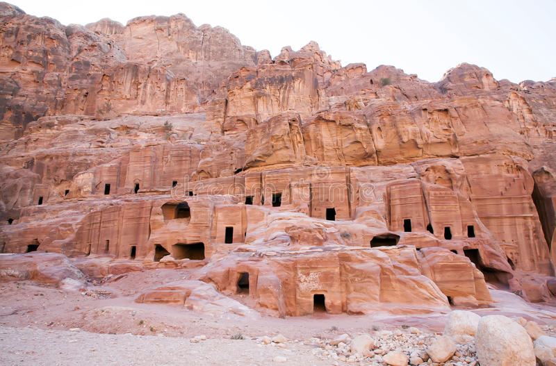 jordanië petra stock foto