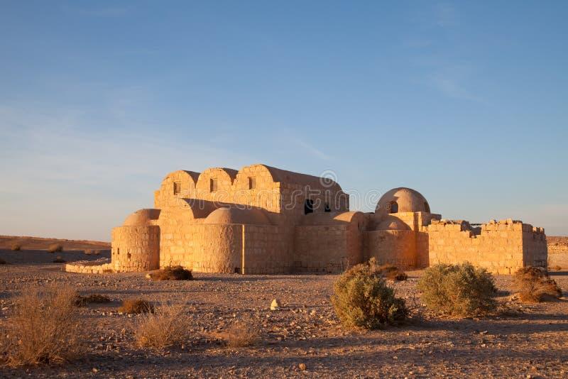 Jordania, castillo del desierto fotografía de archivo libre de regalías