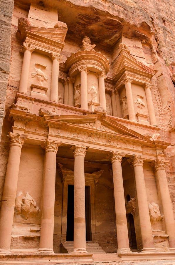 Jordania, Petra hacienda fotos de archivo libres de regalías