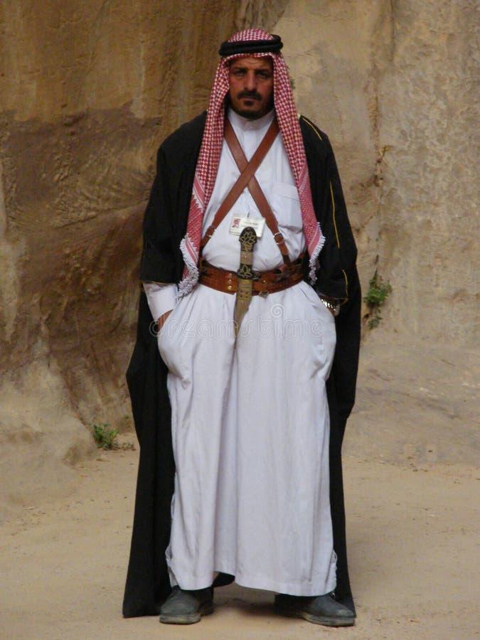 A Jordanian Arab Editorial Stock Image