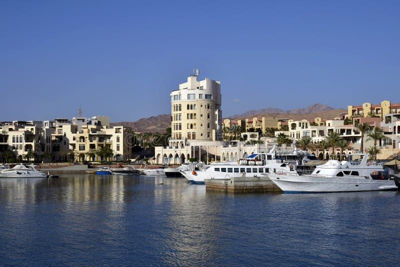 Jordanien Mellanösten, Aqaba arkivbilder