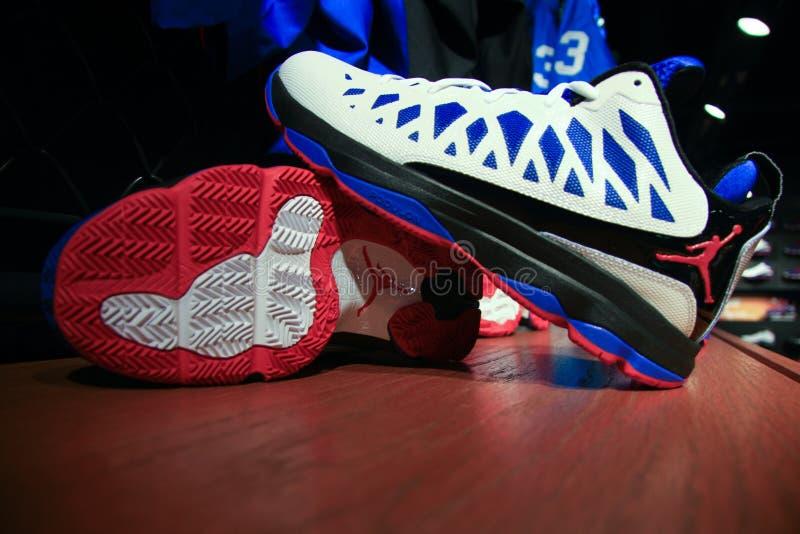 Jordanowscy buty zdjęcie stock