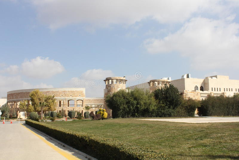 Jordanowska biblioteka uniwersytecka fotografia royalty free