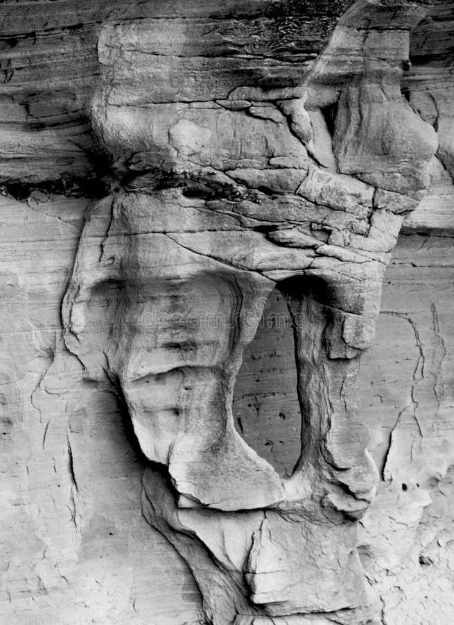 Jordben, storslagen trappuppgång Escalante, Utah arkivfoton