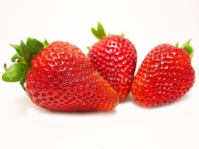 jordgubbar fotografering för bildbyråer