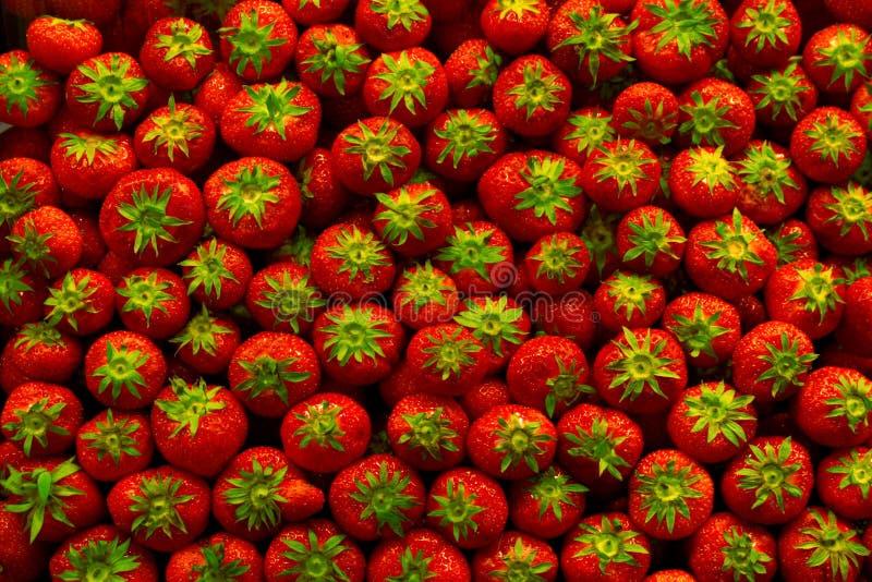 Download Jordgubbar arkivfoto. Bild av bär, textur, produce, marknad - 289146