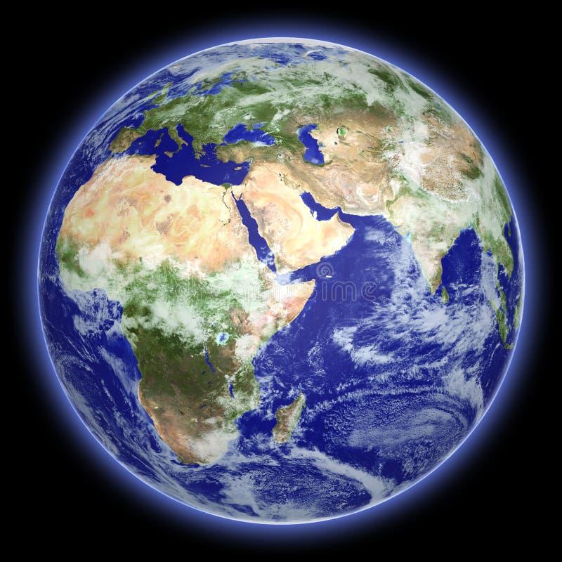 jordjordklot royaltyfri illustrationer