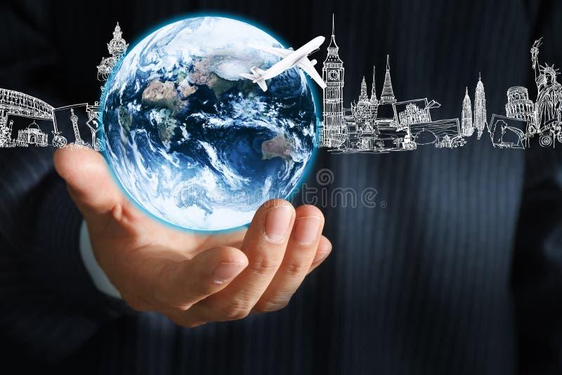 Jordjordklot royaltyfria bilder