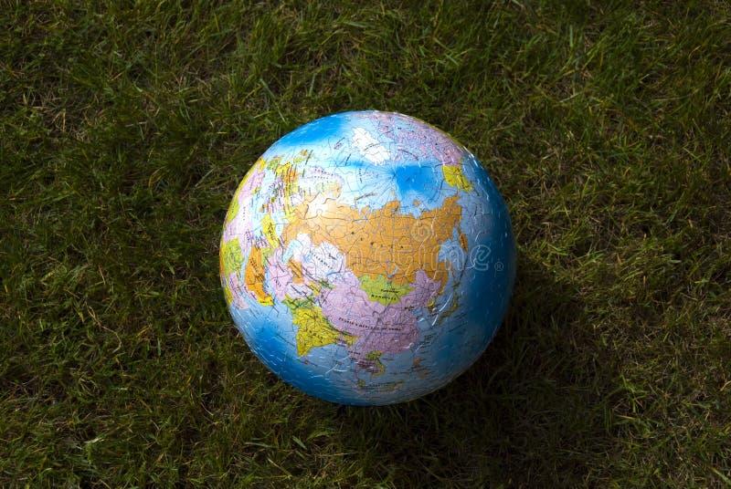 jordjordklotgräs royaltyfria bilder